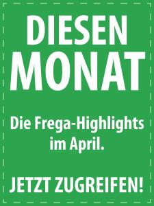 April 2017 - Italienische Feinkost von S.A. Frega im Monatsangebot