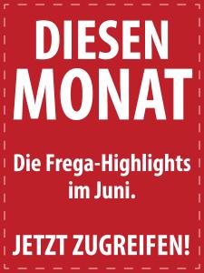 Juni 2017 - Italienische Feinkost von S.A. Frega im Monatsangebot