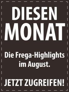 August 2017 - Italienische Feinkost von S.A. Frega im Monatsangebot