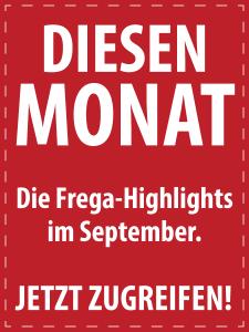 September 2017 - Italienische Feinkost von S.A. Frega im Monatsangebot