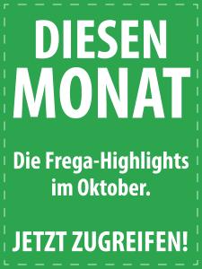 Oktober 2017 - Italienische Feinkost von S.A. Frega im Monatsangebot