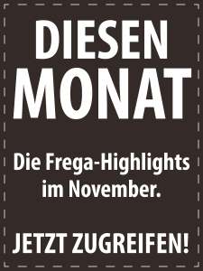 November 2017 - Italienische Feinkost von S.A. Frega im Monatsangebot