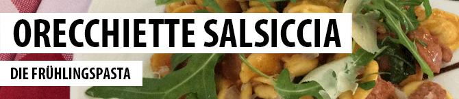 S.A. Frega - Rezepte - Orecchiette Salsiccia